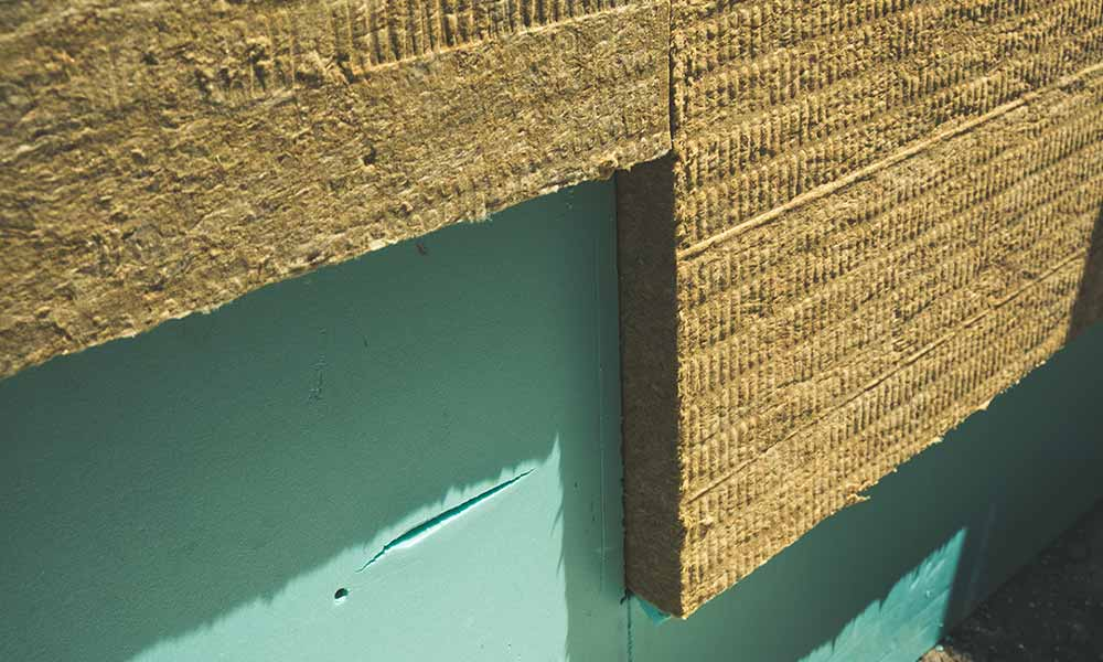 Mineral Wool external wall insulation