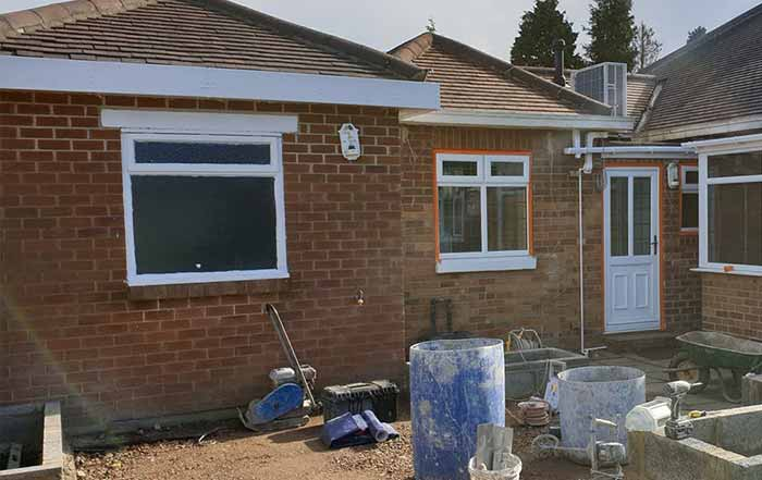 External Rendering Services Huddersfield External Rendering Services Halifax before pic